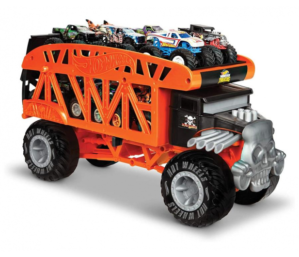 Hot Wheels Monster Trucks Monster Transporter - 1010529 - zdjęcie