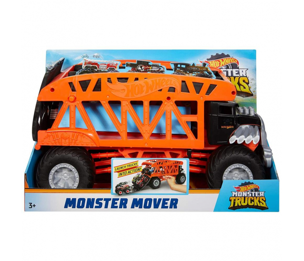 Hot Wheels Monster Trucks Monster Transporter - 1010529 - zdjęcie 2