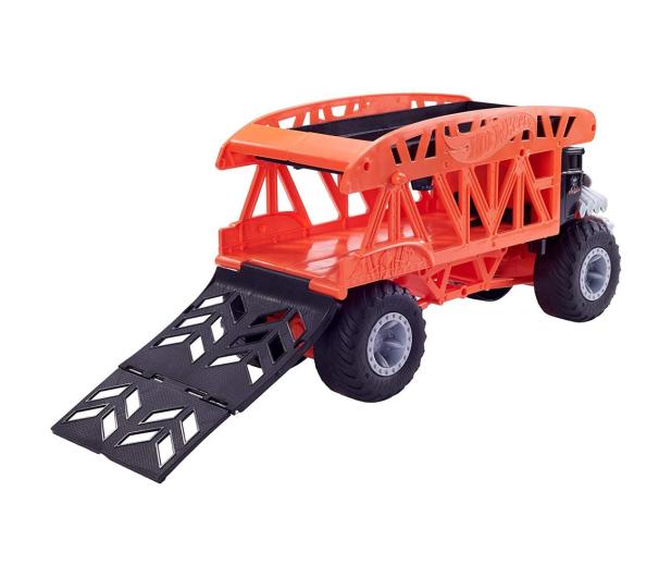 Hot Wheels Monster Trucks Monster Transporter - 1010529 - zdjęcie 3