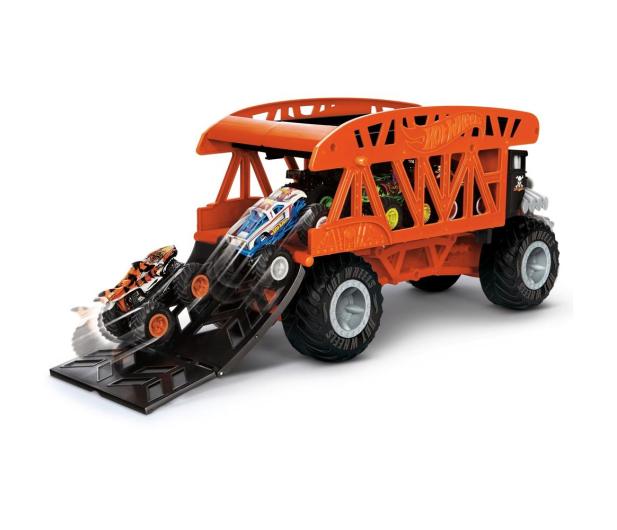 Hot Wheels Monster Trucks Monster Transporter - 1010529 - zdjęcie 4
