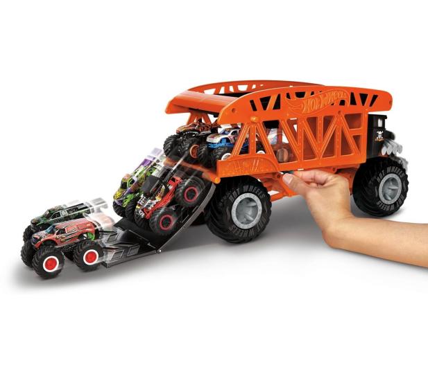 Hot Wheels Monster Trucks Monster Transporter - 1010529 - zdjęcie 5