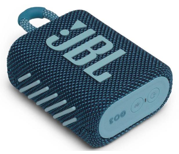 JBL GO 3 Niebieski - 599269 - zdjęcie 3