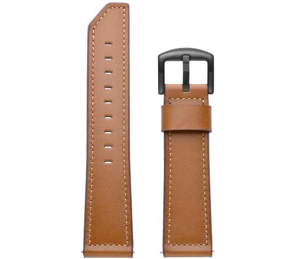 Tech-Protect Pasek Skórzany Herms do smartwatchy brązowy - 605283 - zdjęcie 2