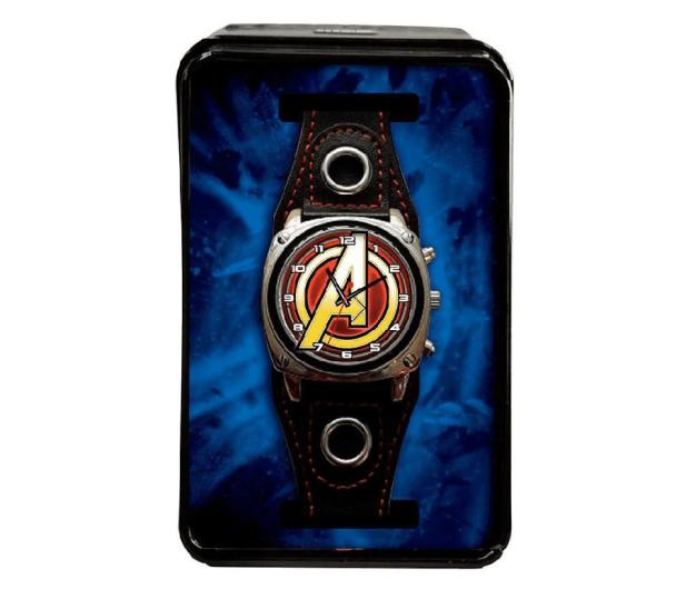 EUROSWAN Zegarek analogowy Avengers w metalowym opakowaniu MV15788 - 1011327 - zdjęcie 2