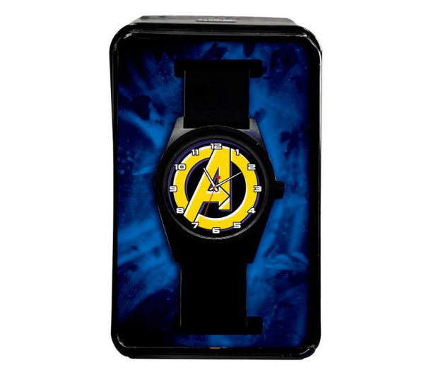 EUROSWAN Zegarek analogowy Avengers w metalowym opakowaniu MV15787 - 1011334 - zdjęcie 2