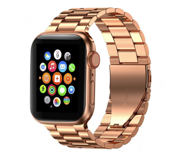 Tech-Protect Bransoleta Stainless do Apple Watch rose gold - 605456 - zdjęcie