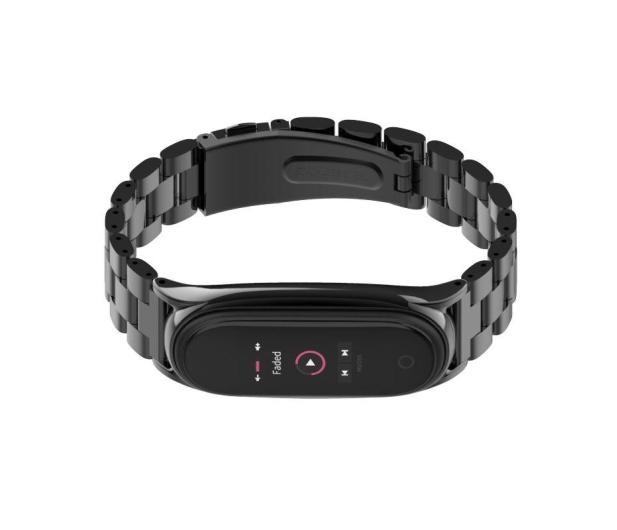 Tech-Protect Bransoleta Stainless do Xiaomi Mi Band 5 black - 605426 - zdjęcie 2