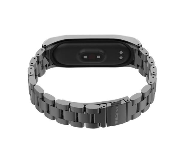 Tech-Protect Bransoleta Stainless do Xiaomi Mi Band 3/4 black - 605417 - zdjęcie 2