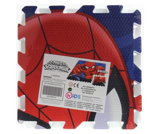 EUROSWAN Mata piankowa Puzzle 9 elementów Spider-Man - 1011398 - zdjęcie 2