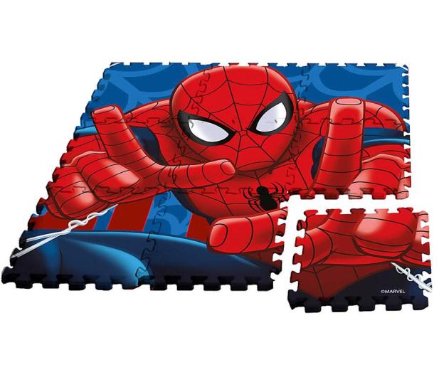 EUROSWAN Mata piankowa Puzzle 9 elementów Spider-Man - 1011398 - zdjęcie