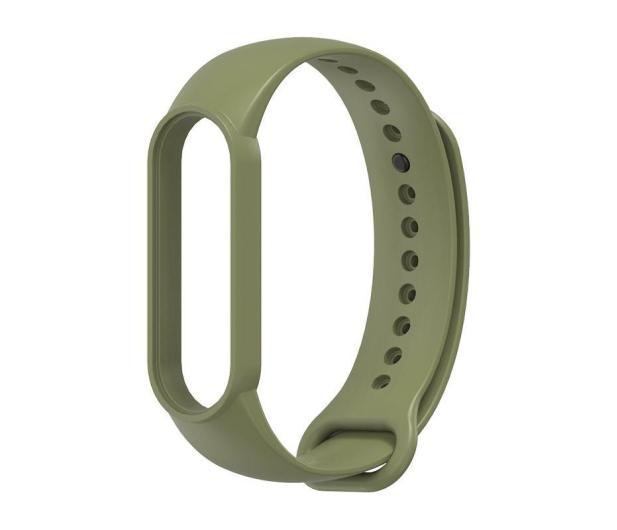 Tech-Protect Opaska Iconband do Xiaomi Mi Band 5 military green - 605560 - zdjęcie 2