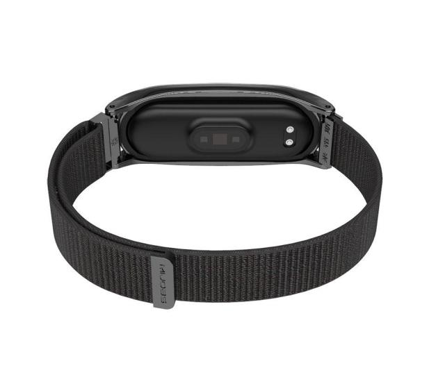 Tech-Protect Pasek Nylon do Xiaomi Mi Band 5 black - 605548 - zdjęcie 3