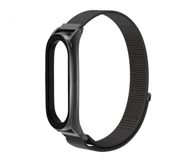 Tech-Protect Pasek Nylon do Xiaomi Mi Band 5 black - 605548 - zdjęcie 2