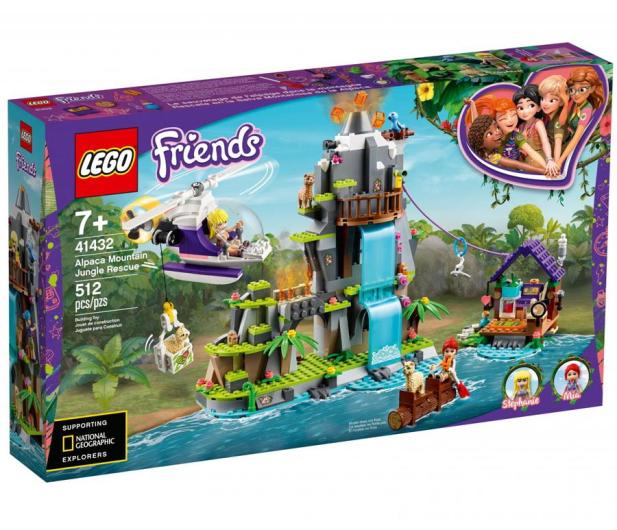 LEGO Friends Na ratunek alpakom - 1011772 - zdjęcie