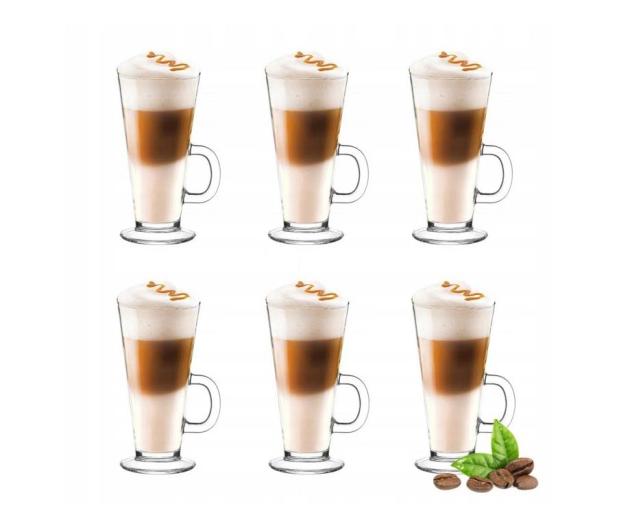PLM Zestaw 6 szklanek do latte 250 ml - 1011838 - zdjęcie