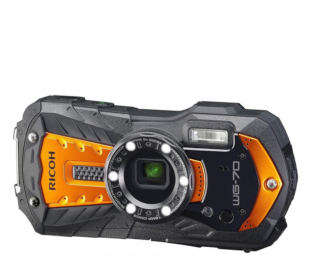 Ricoh WG-70 pomarańczowy  - 604586 - zdjęcie