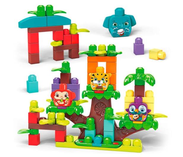 Mega Bloks Muzyczna dżungla - 1011855 - zdjęcie