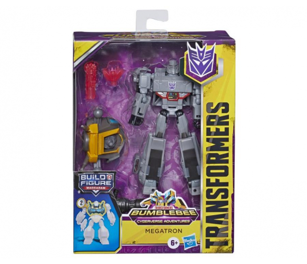 Hasbro Transformers Cyberverse Deluxe Megatron - 1011864 - zdjęcie 3