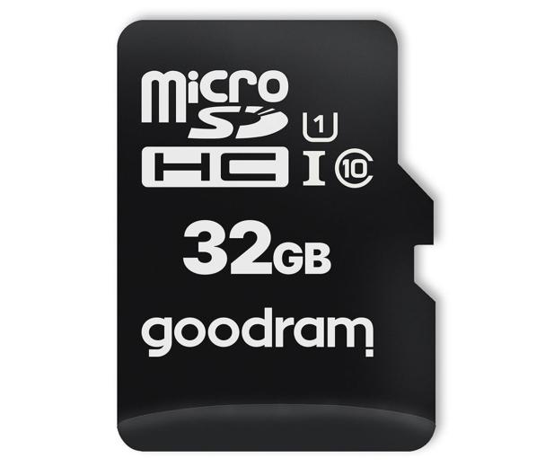 GOODRAM 32GB microSDHC 100MB/s C10 UHS-I U10 - 471594 - zdjęcie