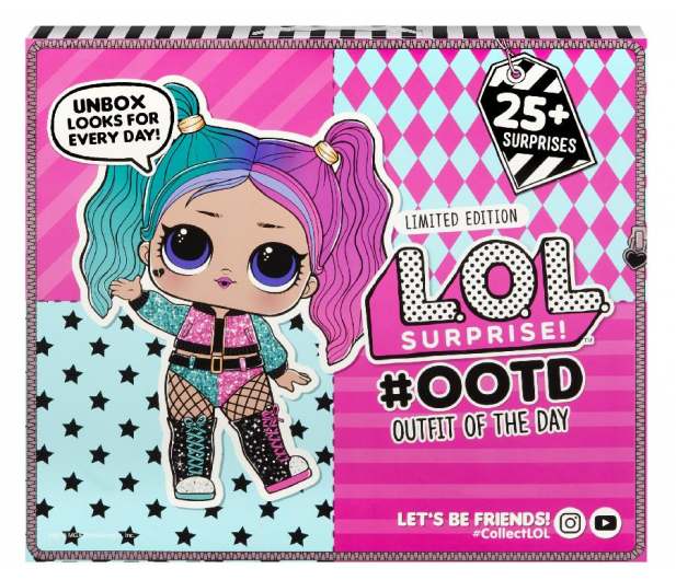 L.O.L. Surprise! Kalendarz Outfit Of The Day - 1009522 - zdjęcie