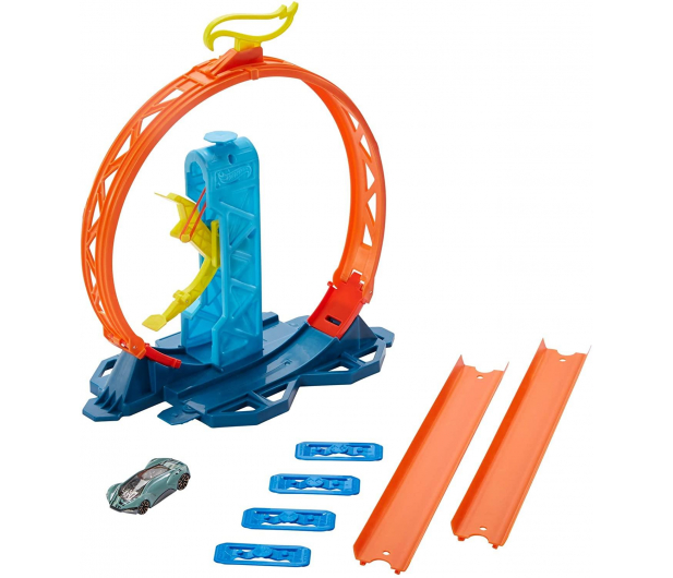 Hot Wheels Track Builder Zestaw do rozbudowy Pętla - 540763 - zdjęcie 3