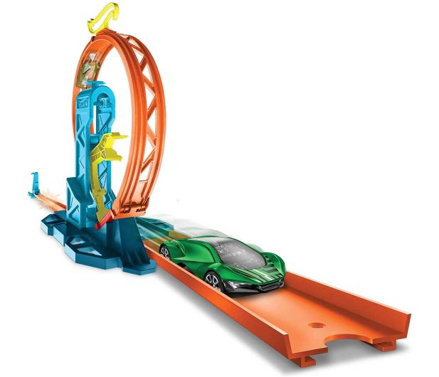 Hot Wheels Track Builder Zestaw do rozbudowy Pętla - 540763 - zdjęcie 5