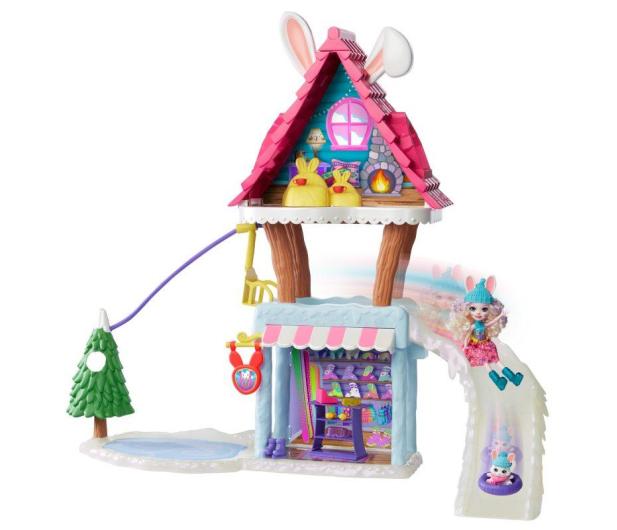 Mattel Enchantimals Snow Valley Zimowa chatka Zestaw - 573557 - zdjęcie 3