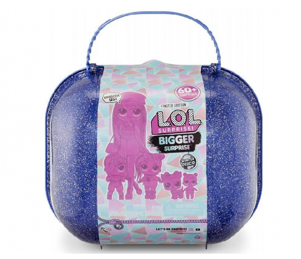 L.O.L. Surprise! L.O.L. Surprise Winter Disco Bigger Surprise - 1011126 - zdjęcie