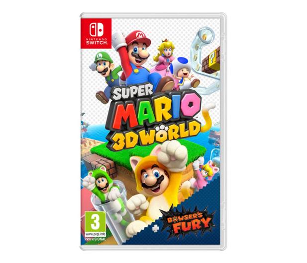 Switch Super Mario 3D World + Bowser's Fury - 604494 - zdjęcie