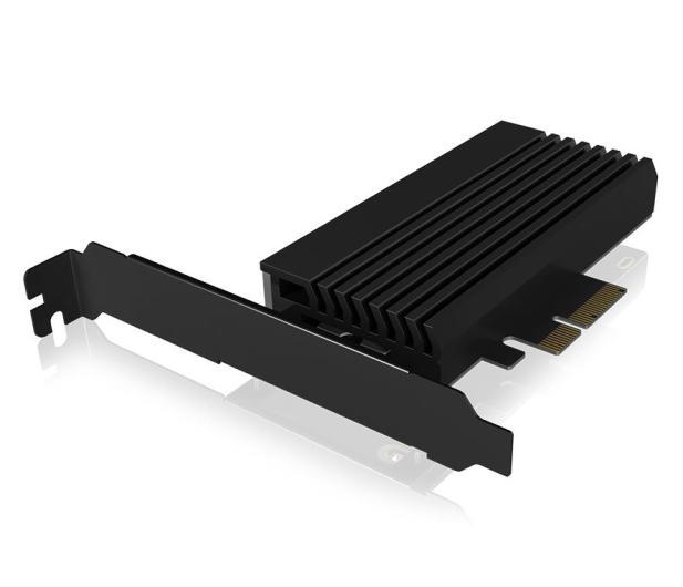 ICY BOX Kontroler PCI-E - M.2 NVMe - ARGB - 601777 - zdjęcie 2