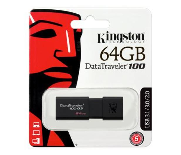 Kingston 64GB DataTraveler 100 G3 (USB 3.0) - 126211 - zdjęcie 9