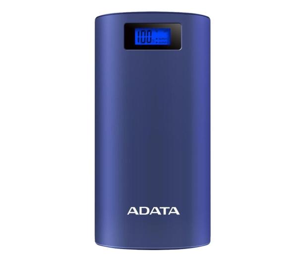 ADATA Power Bank AP20000D 20000mAh (2.1A, granatowy) - 613585 - zdjęcie
