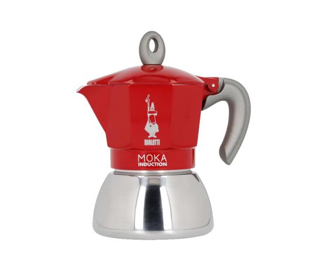 Bialetti New Moka Induction 4tz czerwona - 1012435 - zdjęcie