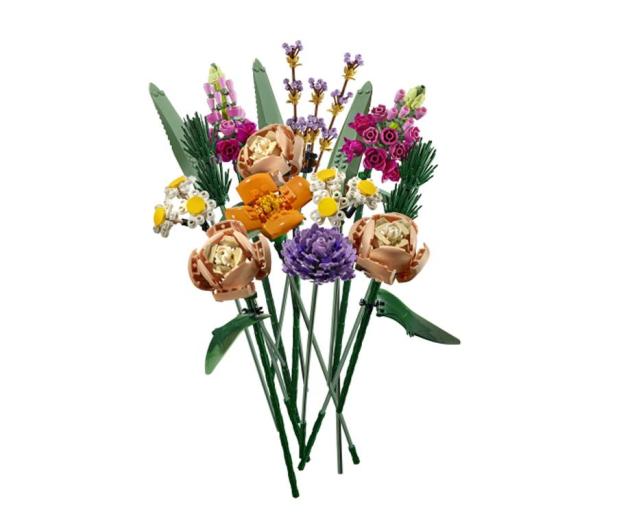 LEGO Creator Expert Bukiet kwiatowy - 1012695 - zdjęcie 2