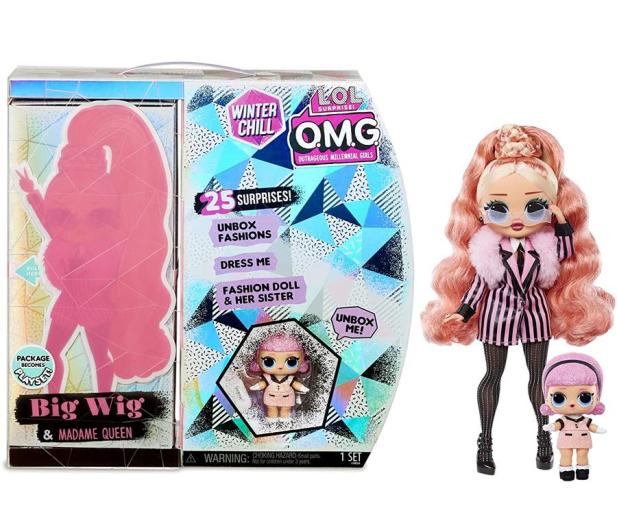 L.O.L. Surprise! L.O.L. SURPRISE - OMG Winter Chill LOL Lalka Big Wig i Madam - 1012394 - zdjęcie 3