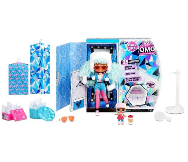 L.O.L. Surprise! OMG Winter Chill Lalka Icy Gurl i Brrr - 1012392 - zdjęcie 2