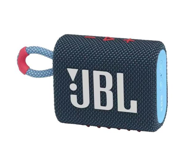 JBL GO 3 Niebiesko-różowy - 599266 - zdjęcie