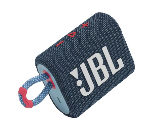 JBL GO 3 Niebiesko-różowy - 599266 - zdjęcie 2