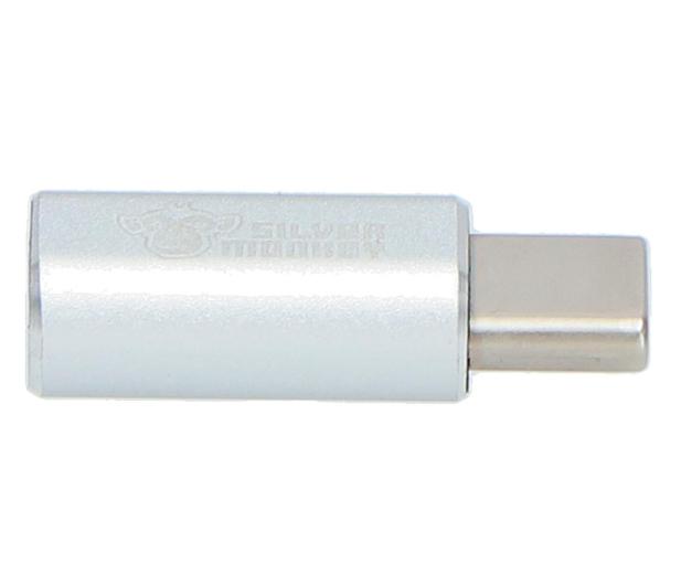 Silver Monkey Adapter USB-C - micro USB - 567534 - zdjęcie 4