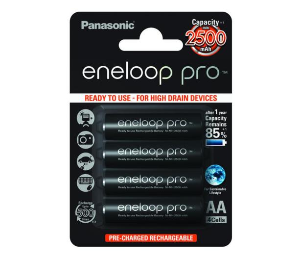Panasonic Eneloop Pro R6/AA 2500 mAh (4 sztuki) - 247090 - zdjęcie