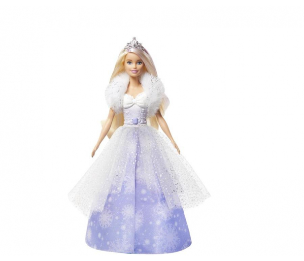 Barbie Księżniczka Lodowa magia - 539216 - zdjęcie