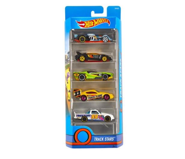 Hot Wheels Zestaw samochodzików 5 pack - 545675 - zdjęcie