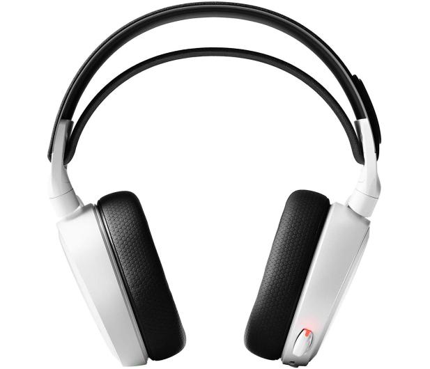 SteelSeries Arctis 7 Białe - Bezprzewodowe - 356178 - zdjęcie 2