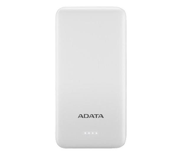 ADATA Power Bank T10000 10000mAh (2A, biały) - 546579 - zdjęcie