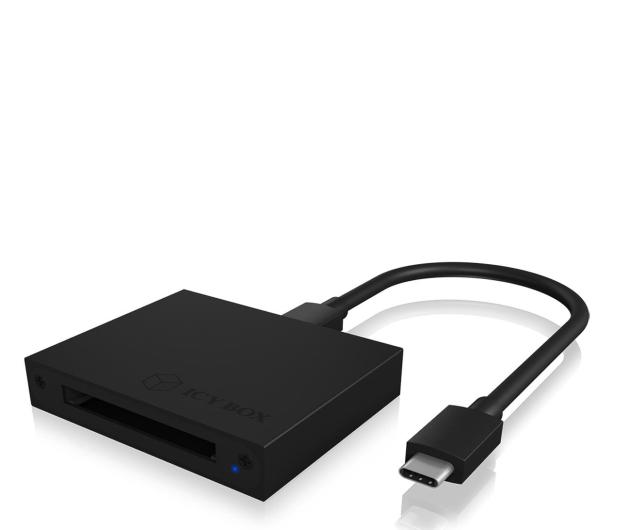 ICY BOX Czytnik kart USB-C - 535288 - zdjęcie