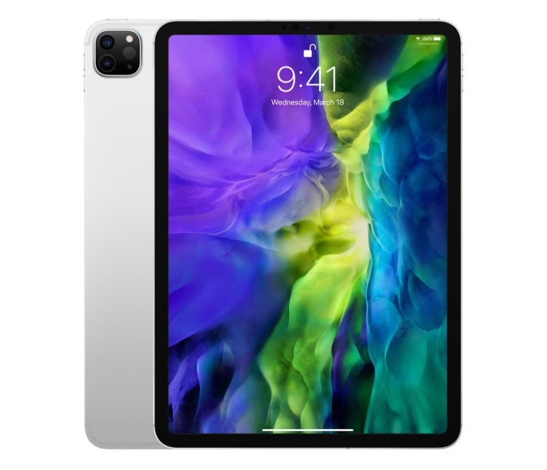 "Apple New iPad Pro 11"" 256 GB Wi-Fi + LTE Silver - 553090 - zdjęcie"
