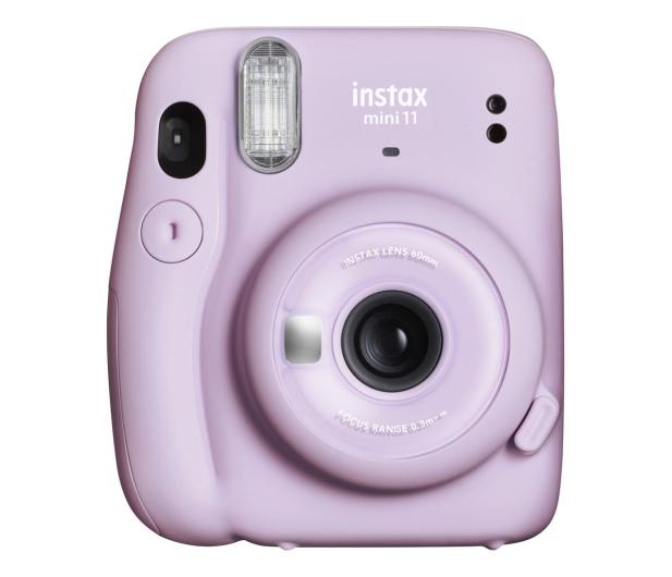 Fujifilm Instax Mini 11 purpurowy  - 553724 - zdjęcie