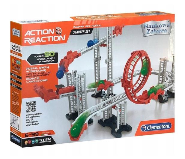 Clementoni Naukowa Zabawa Akcja-Reakcja - 524607 - zdjęcie