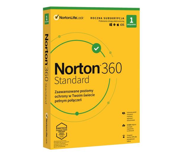 NortonLifeLock 360 Standard 1st. (12m) - 546728 - zdjęcie