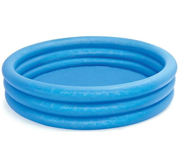 INTEX Basen niebieski Crystal Blue 137x33cm - 549982 - zdjęcie